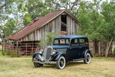 1934 Ford Tudor for sale at STREET DREAMS TEXAS in Fredericksburg TX
