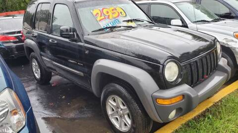 2002 Jeep Liberty for sale at Jeffreys Auto Resale, Inc in Clinton Township MI