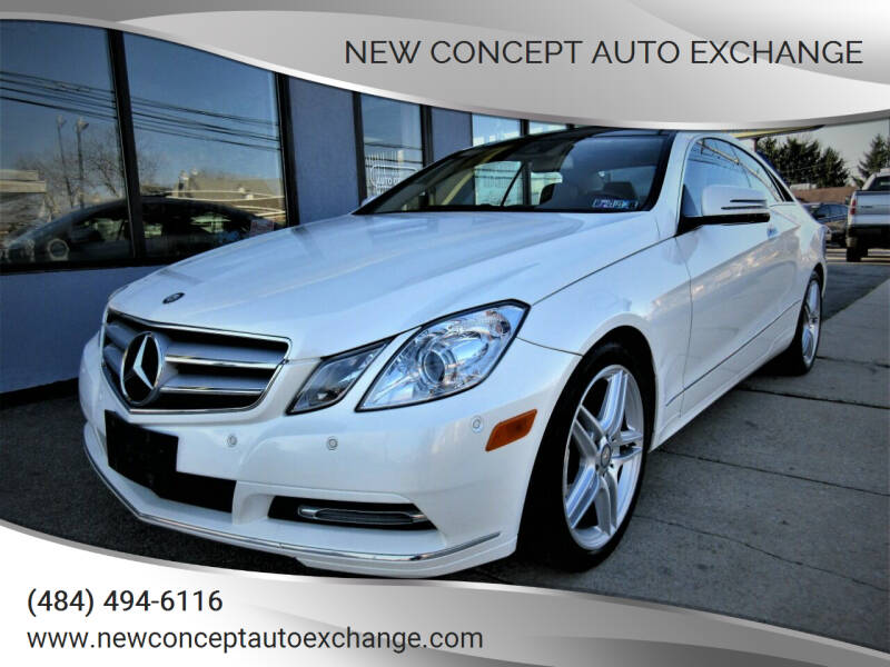 2013 Mercedes-Benz E-Class for sale at New Concept Auto Exchange in Glenolden PA