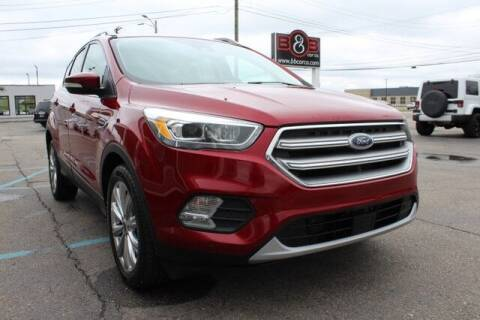 2017 Ford Escape for sale at B & B Car Co Inc. in Clinton Twp MI