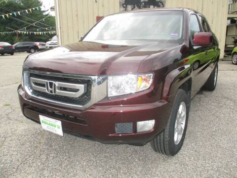 2010 Honda Ridgeline for sale at Roland's Motor Sales in Alfred ME