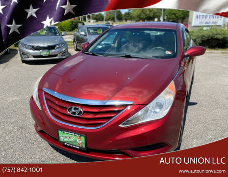 2011 Hyundai Sonata for sale at Auto Union LLC in Virginia Beach VA