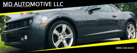 2010 Chevrolet Camaro for sale at MD AUTOMOTIVE LLC in Slidell LA