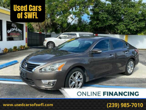 2013 Nissan Altima for sale at Used Cars of SWFL in Fort Myers FL