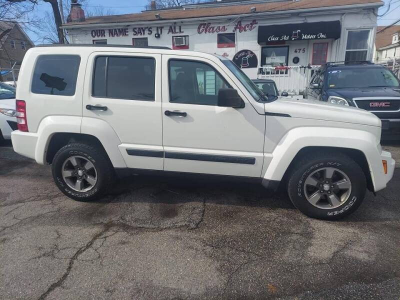 2008 Jeep Liberty for sale at Class Act Motors Inc in Providence RI