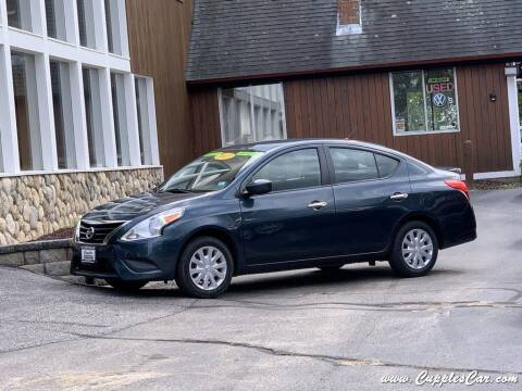 2016 Nissan Versa for sale at Cupples Car Company in Belmont NH