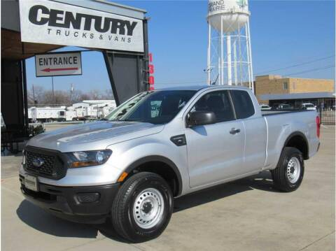 2019 Ford Ranger for sale at CENTURY TRUCKS & VANS in Grand Prairie TX