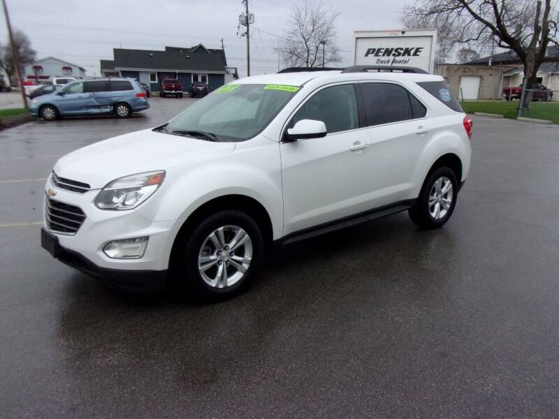 2016 Chevrolet Equinox for sale at Ideal Auto Sales, Inc. in Waukesha WI
