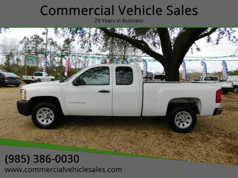 2013 Chevrolet Silverado 1500 for sale at Commercial Vehicle Sales in Ponchatoula LA