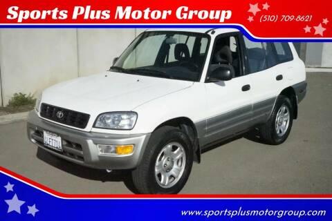 2000 Toyota RAV4 for sale at Sports Plus Motor Group LLC in Sunnyvale CA