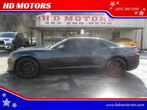 2015 Chevrolet Camaro for sale at HD MOTORS in Kingsport TN