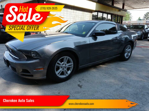 2014 Ford Mustang for sale at Cherokee Auto Sales in Acworth GA