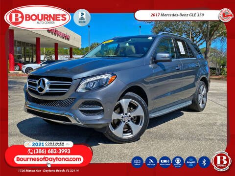 2017 Mercedes-Benz GLE for sale at Bourne's Auto Center in Daytona Beach FL