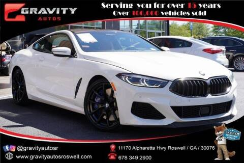2019 BMW 8 Series for sale at Gravity Autos Roswell in Roswell GA