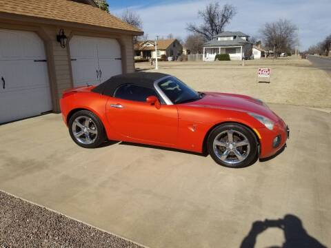 2008 Pontiac Solstice for sale at Eastern Motors in Altus OK