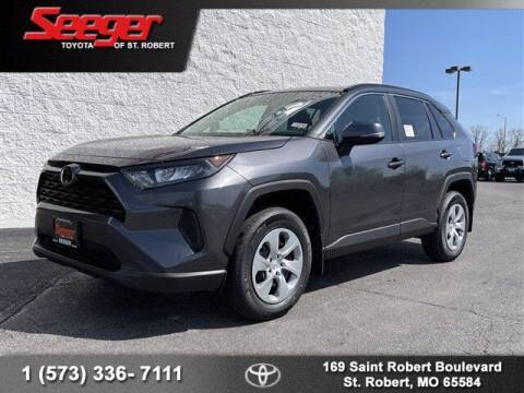 2021 Toyota RAV4 for sale at SEEGER TOYOTA OF ST ROBERT in St Robert MO