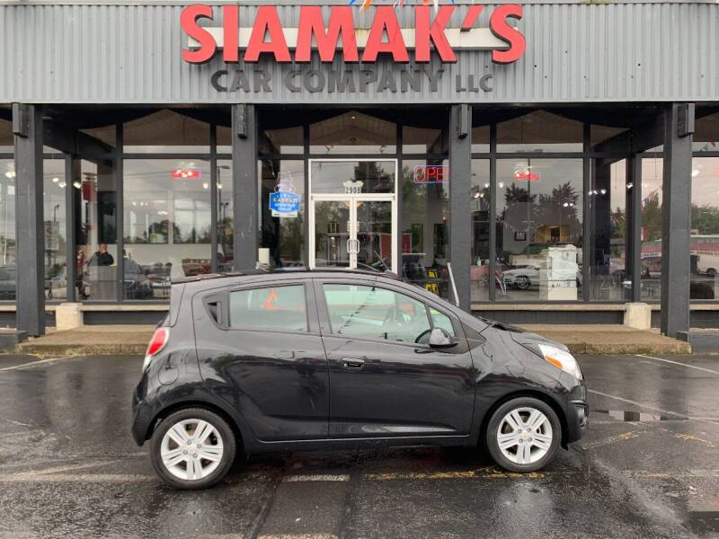 2014 Chevrolet Spark for sale at Siamak's Car Company llc in Salem OR