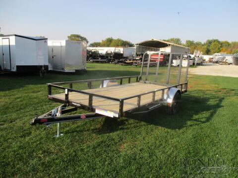 2021 PJ Trailer U7 Single Axle Utility U721431 for sale at Rondo Truck & Trailer in Sycamore IL