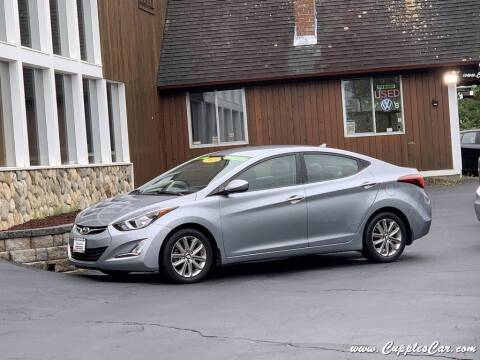 2015 Hyundai Elantra for sale at Cupples Car Company in Belmont NH