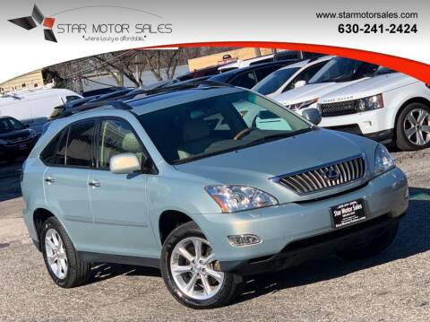 2008 Lexus RX 350 for sale at Star Motor Sales in Downers Grove IL