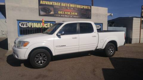 2006 Toyota Tundra for sale at Advantage Auto Motorsports in Phoenix AZ