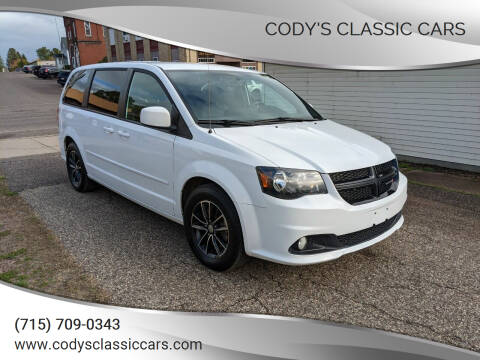 2017 Dodge Grand Caravan for sale at Cody's Classic Cars in Stanley WI