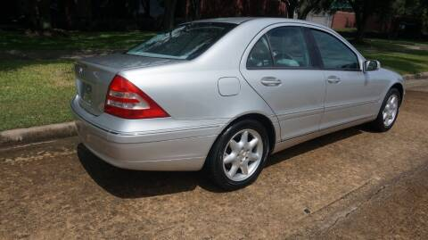 2002 Mercedes-Benz C-Class for sale at Cars-yachtsusa.com in League City TX