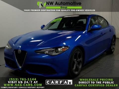 2017 Alfa Romeo Giulia for sale at NW Automotive Group in Cincinnati OH