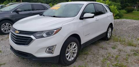 2018 Chevrolet Equinox for sale at COOPER AUTO SALES in Oneida TN