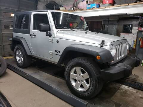 2007 Jeep Wrangler for sale at Devaney Auto Sales & Service in East Providence RI