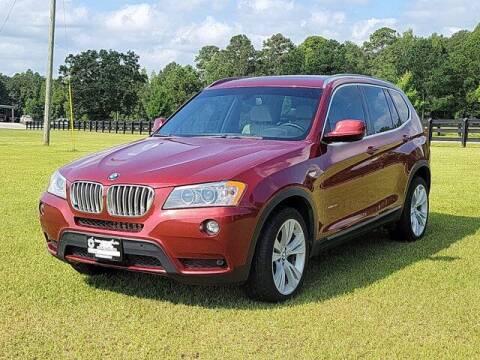 2013 BMW X3 for sale at Bratton Automotive Inc in Phenix City AL