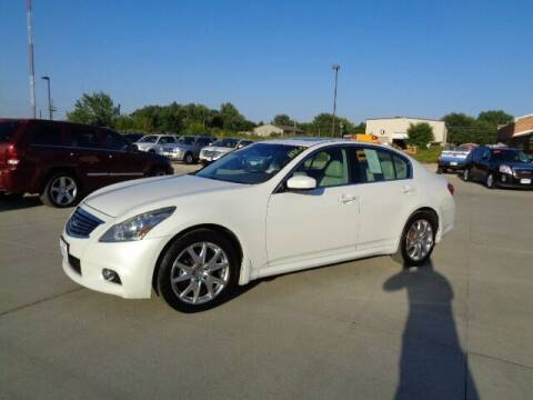 2011 Infiniti G37 Sedan for sale at De Anda Auto Sales in Storm Lake IA