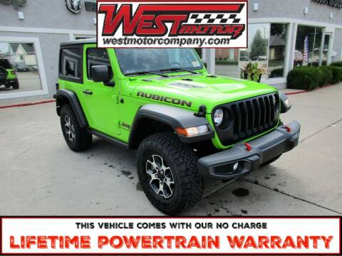 2021 Jeep Wrangler for sale at West Motor Company in Preston ID
