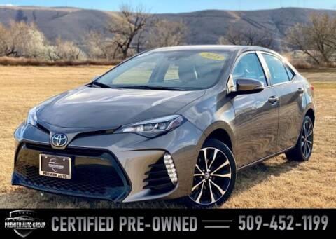 2018 Toyota Corolla for sale at Premier Auto Group in Union Gap WA