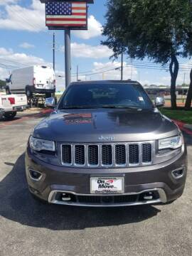 2014 Jeep Grand Cherokee for sale at ON THE MOVE INC in Boerne TX