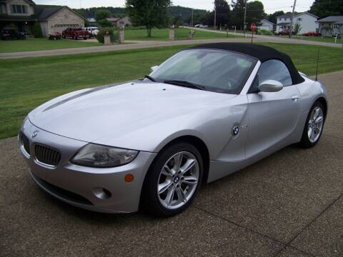 2005 BMW Z4 for sale at Collector Car Co in Zanesville OH