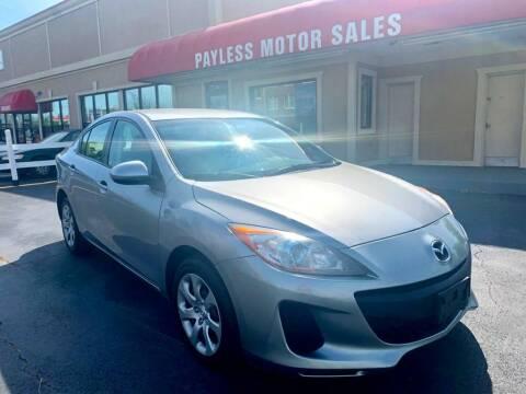 2013 Mazda MAZDA3 for sale at Payless Motor Sales LLC in Burlington NC