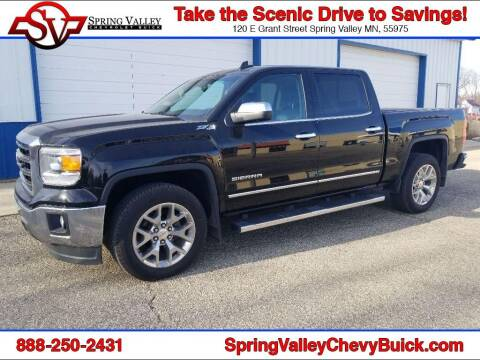 2015 GMC Sierra 1500 for sale at Spring Valley Chevrolet Buick in Spring Valley MN