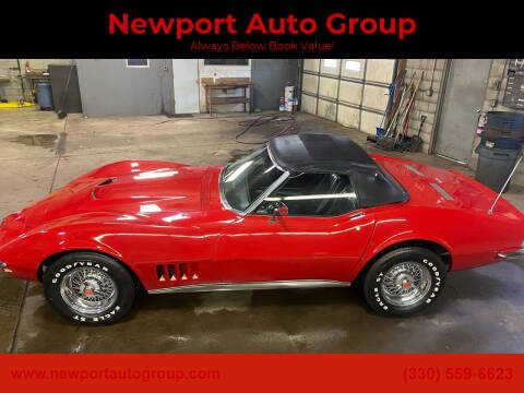 1968 Chevrolet Corvette for sale at Newport Auto Group in Austintown OH