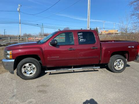 2013 Chevrolet Silverado 1500 for sale at Mark Regan Auto Sales in Oswego NY