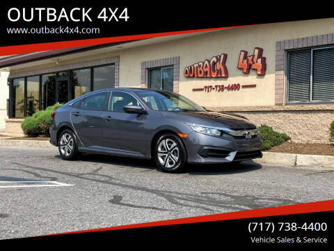 2018 Honda Civic for sale at OUTBACK 4X4 in Ephrata PA