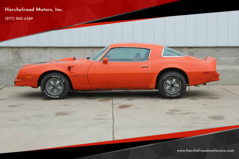 1976 Pontiac Firebird Trans Am for sale at Harchelroad Motors, Inc. in Wauneta NE
