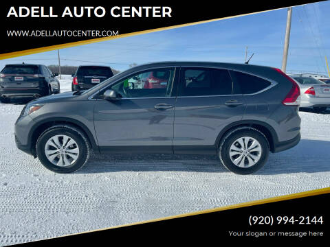 2013 Honda CR-V for sale at ADELL AUTO CENTER in Waldo WI