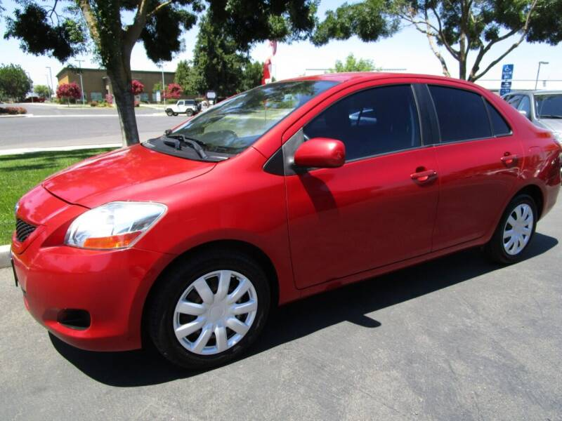 2010 Toyota Yaris for sale at KM MOTOR CARS in Modesto CA