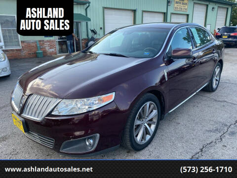 2011 Lincoln MKS for sale at ASHLAND AUTO SALES in Columbia MO