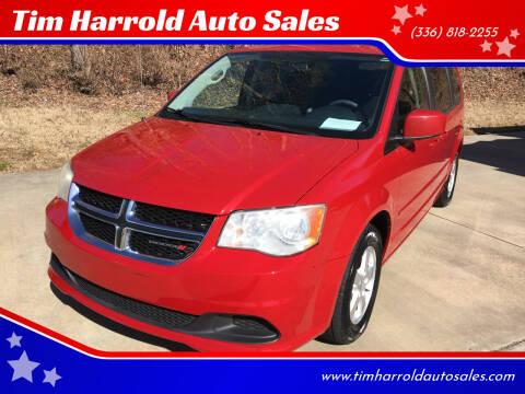 2012 Dodge Grand Caravan for sale at Tim Harrold Auto Sales in Wilkesboro NC