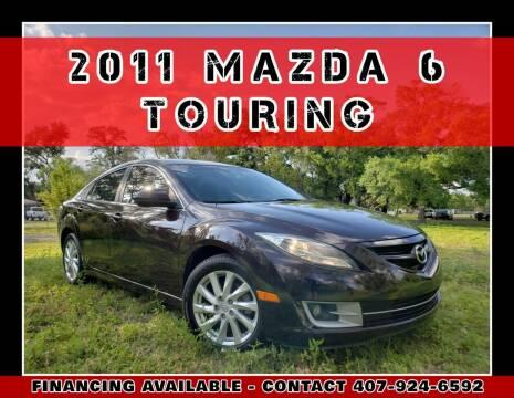 2011 Mazda MAZDA6 for sale at AFFORDABLE ONE LLC in Orlando FL