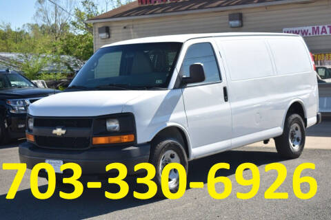 2013 Chevrolet Express Cargo for sale at MANASSAS AUTO TRUCK in Manassas VA