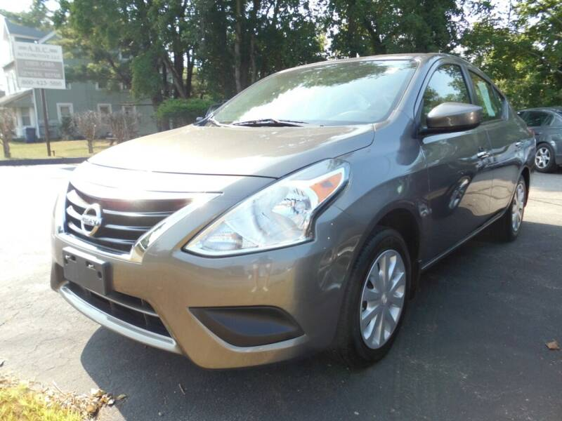 2016 Nissan Versa for sale at ABC AUTO LLC in Willimantic CT