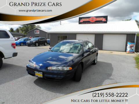 2001 Oldsmobile Intrigue for sale at Grand Prize Cars in Cedar Lake IN